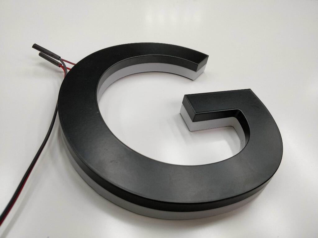 Буквы и логотипы из нержавеющей стали