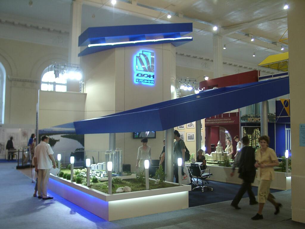 Производство выставочного стенда и логотипа