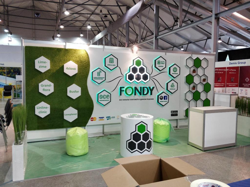 Изготовление стендов подиумов инсталляций